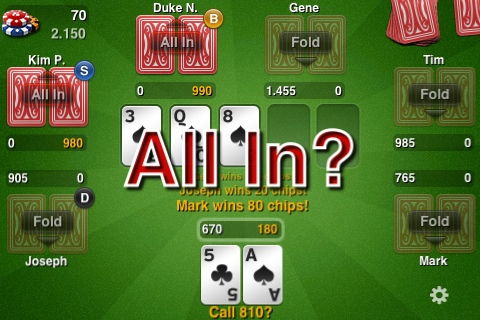 go all in?